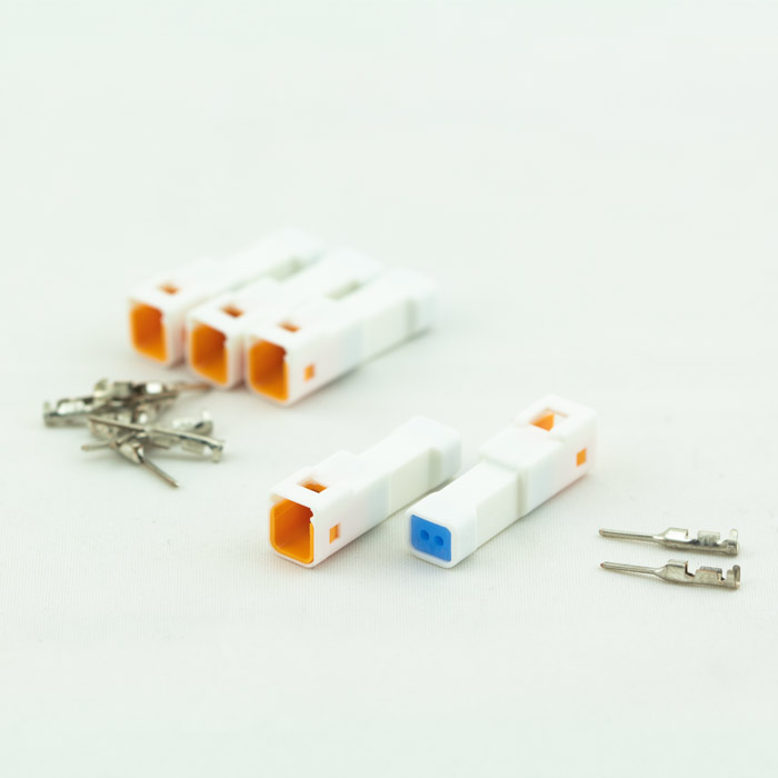 JST-Steckerset | 15-teilig | 02T-JWPF-VSLE-S | 5 x 2er Stecker weiblich | inkl. 10 Pin s