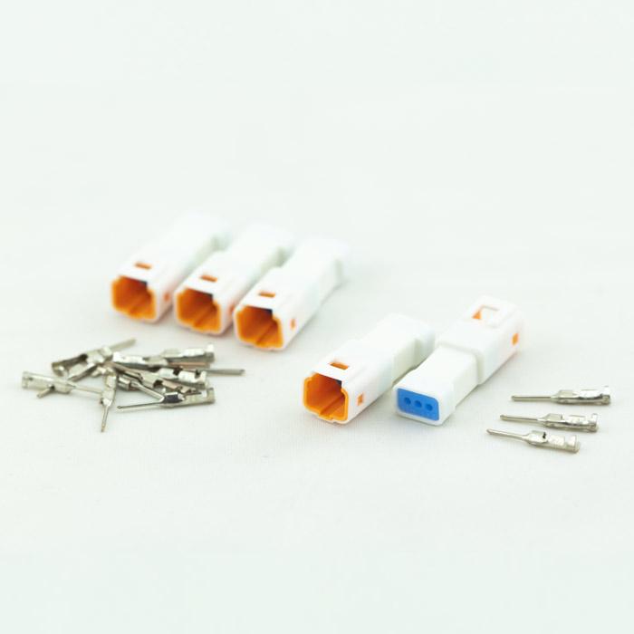 JST-Steckerset | 20-teilig | 03T-JWPF-VSLE-S | 5 x 3er Stecker weiblich | inkl. 15 Pin s