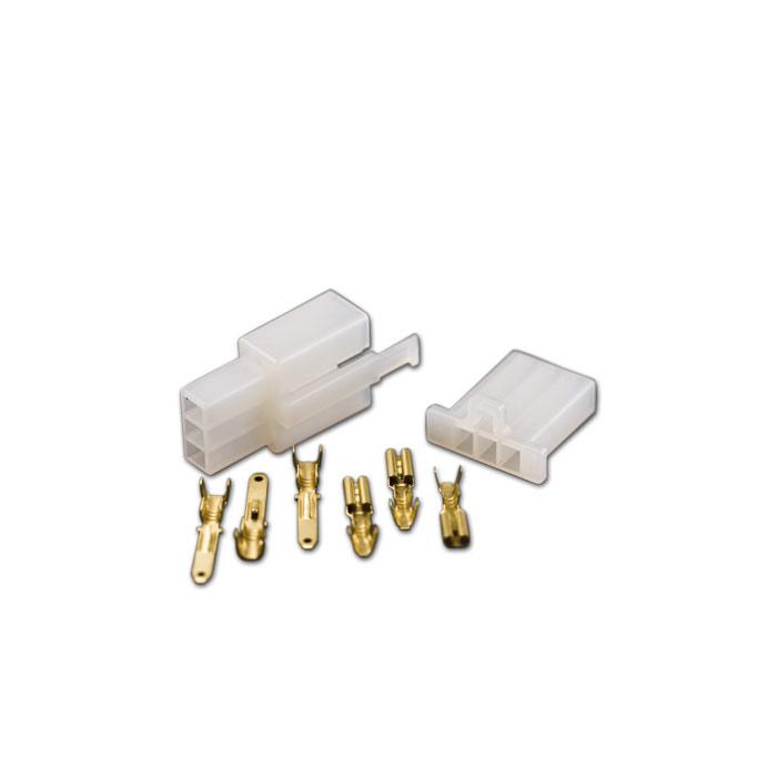 Japan-Blockstecker 8-teilig, inkl. Pin s 1 x 3er-Block weiblich,1 x 3er-Block männlich