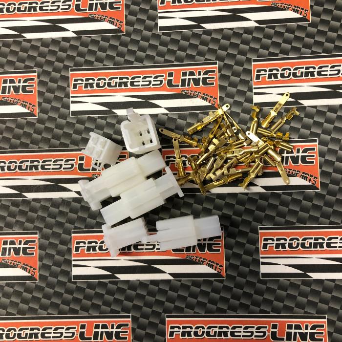 Japan-Blockstecker-Sortiment 40-teilig, 4 x 4-Block | inkl. Pin s