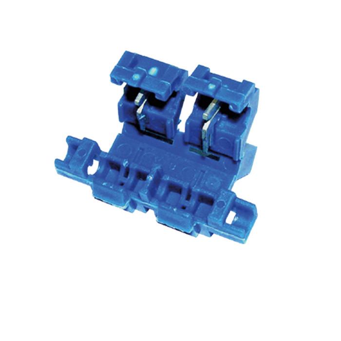 Sicherungshalter | VPE 50 STCK | Blau | 0,75-2mm |