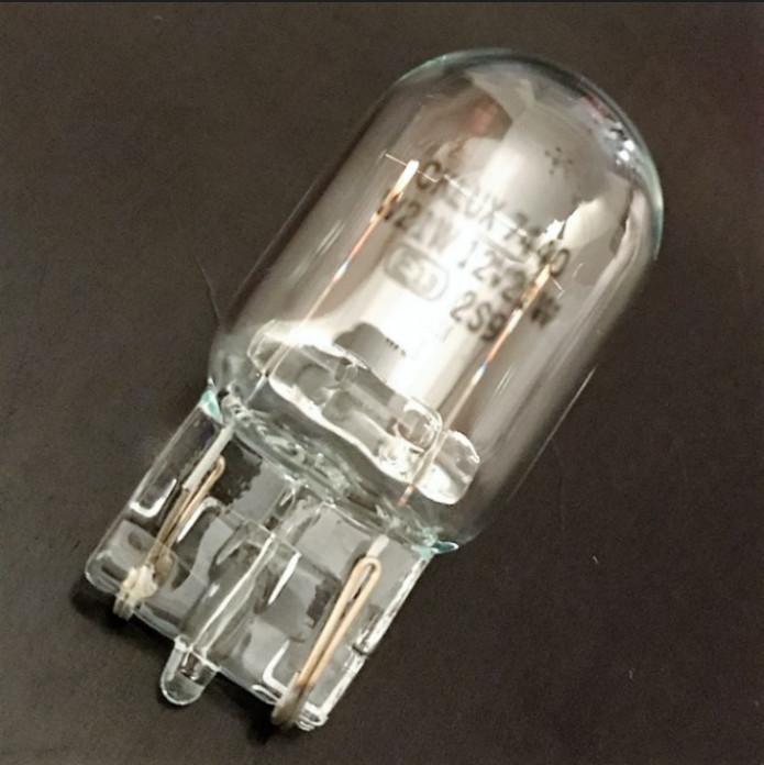 Glassockellampe T20 12V/21W, (W3x16d) Ø=20x39mm, E-gepr., *MINDESTBESTELLMENGE 10 Stck.*