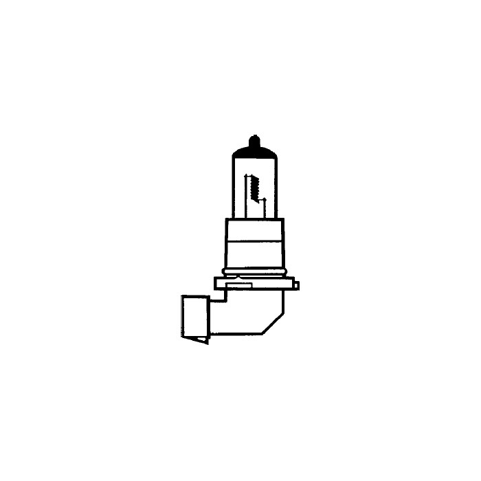 Hauptscheinwerferlampe   12V 51W   HB4   P22D   Ø=12X69 mm