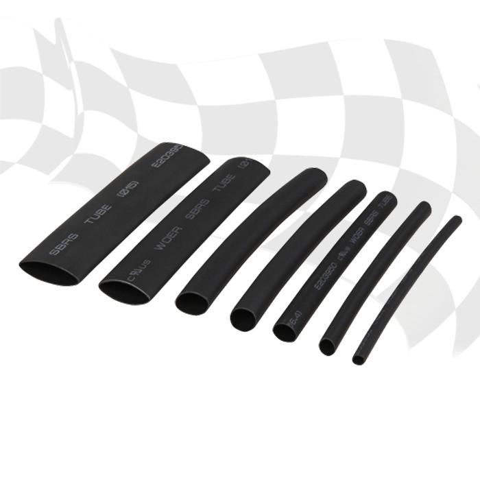 Schrumpfschlauch-Set | 7-teilig | 3:1 | L 100 mm | 1 x  Ø 3,2 / 4,8 / 6,4 / 7,9 / 9,5 / 12,7 / 15 mm