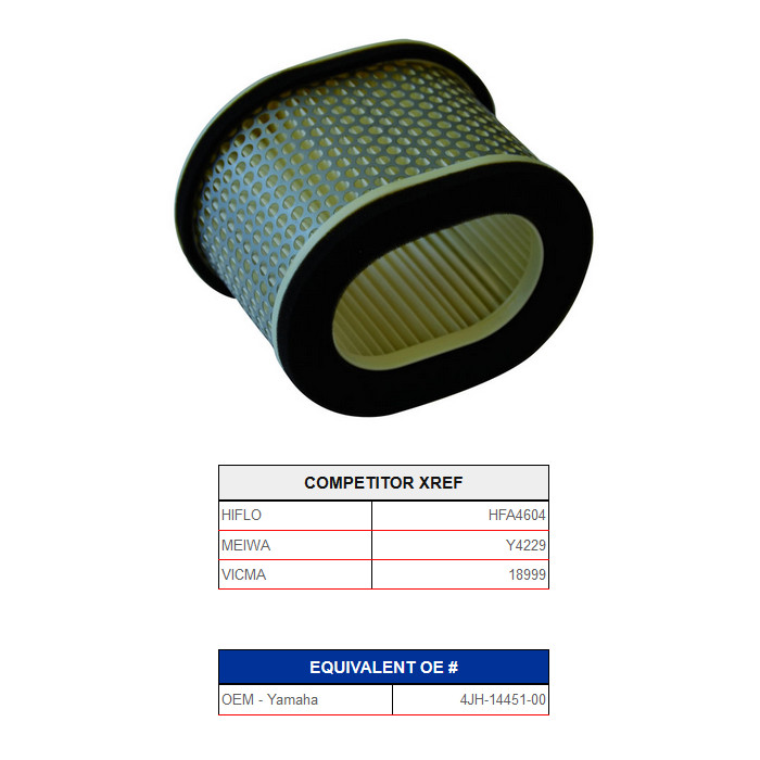 Champion Luftfilter V309* Alternativ Hiflo 434604