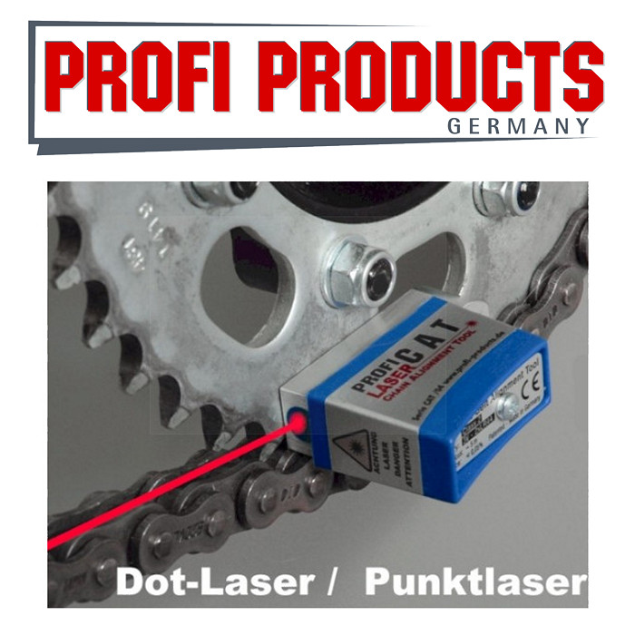 Profi D-CAT Ketten/Zahnriemenflucht-Tester/P Laser *** Kettenfluchttester Punktlaser/Werkstatt ***
