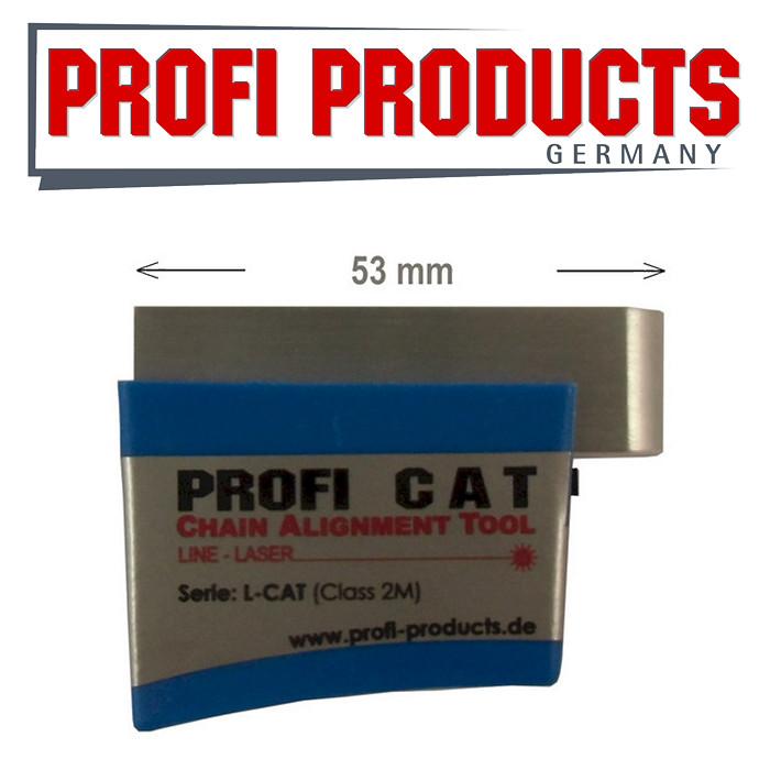 Profi L-CAT Ketten/Zahnriemenflucht-Tester/L Laser *** Kettenfluchttester Linienlaser/Werkstatt ***