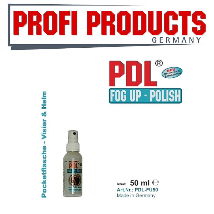 PDL® Fog Up Polish, 50ml, Schnellreiniger + Politur mit Show Glanz Effekt