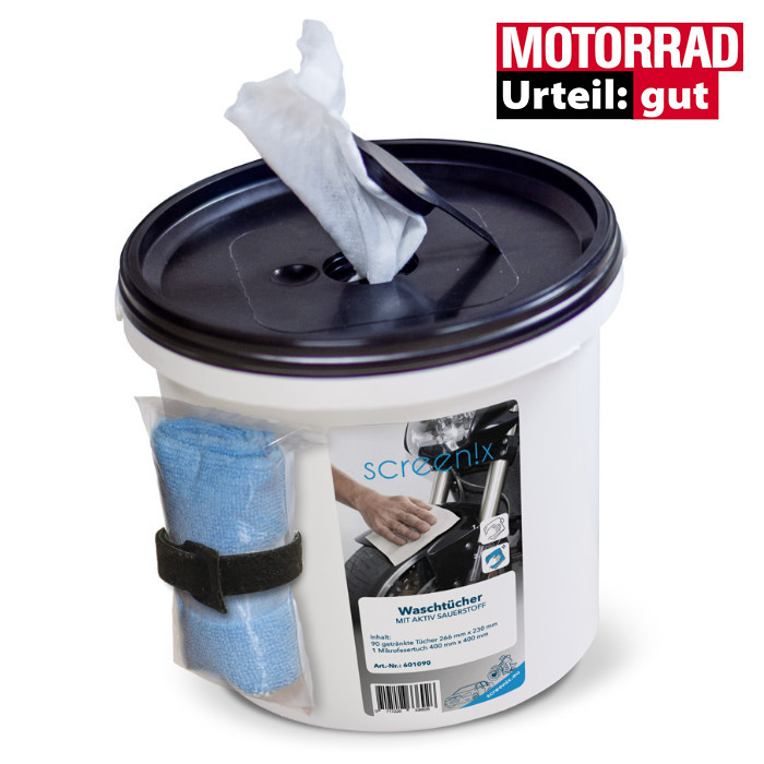Waschtücher für Fahrzeuge mit Aktiv-Sauerstoff *** Waschen ohne Wasser ***