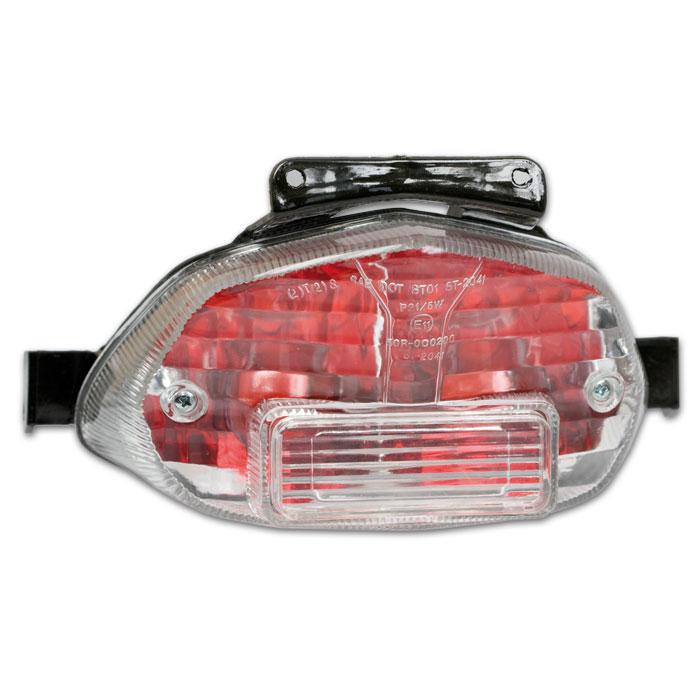 Klarglasrücklicht Suzuki GSX-R600/750, Bj. 00-03, GSXR 1000, Bj. 01-02, E-geprüft