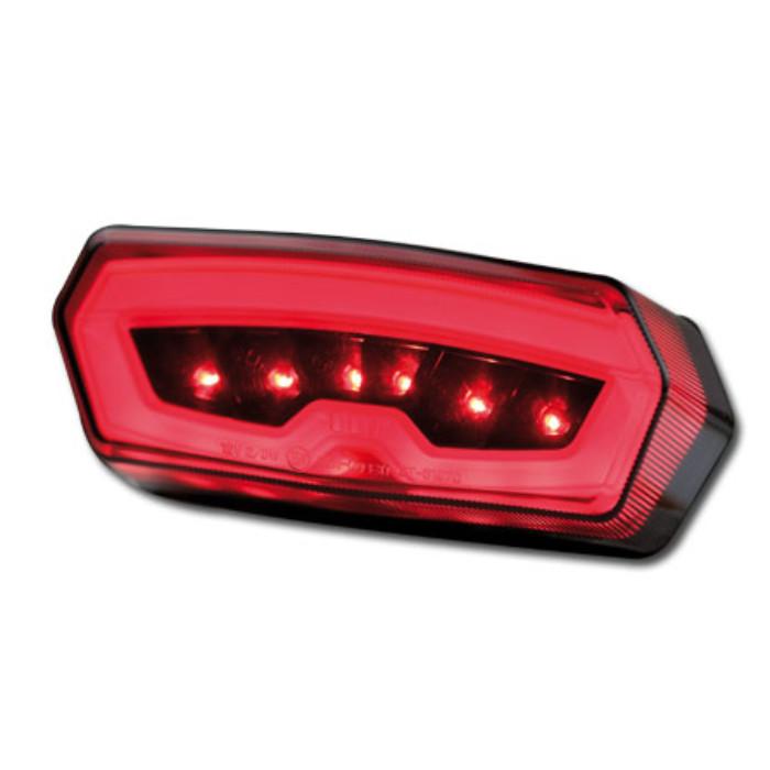 LED-Rücklicht Honda MSX/Grom 125, NC750S/X CTX700N, CB/CBR650F, getönt, E-geprüft