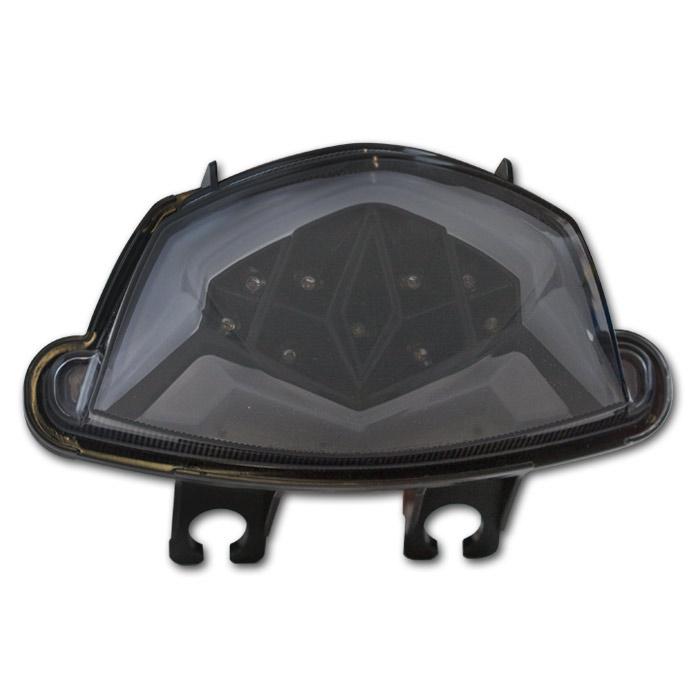 LED-Rücklicht Suzuki GSX-S750, 17- /1000/F, 16-19, getönt, Reflektor schwarz, E-geprüft
