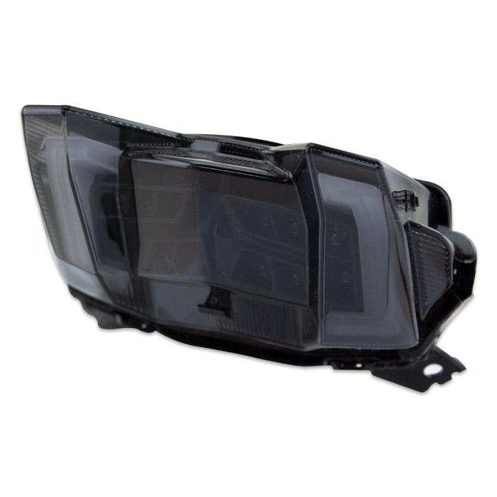 LED-Rücklicht Yamaha MT-09 Bj. 17-18, Reflektor schwarz, getönt, E-geprüft