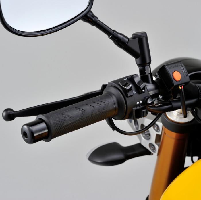 """Heizgriffe """"Daytona III"""", offen, 7/8""""-22 mm, Länge: 125 mm, 4 fach verstellbar"""