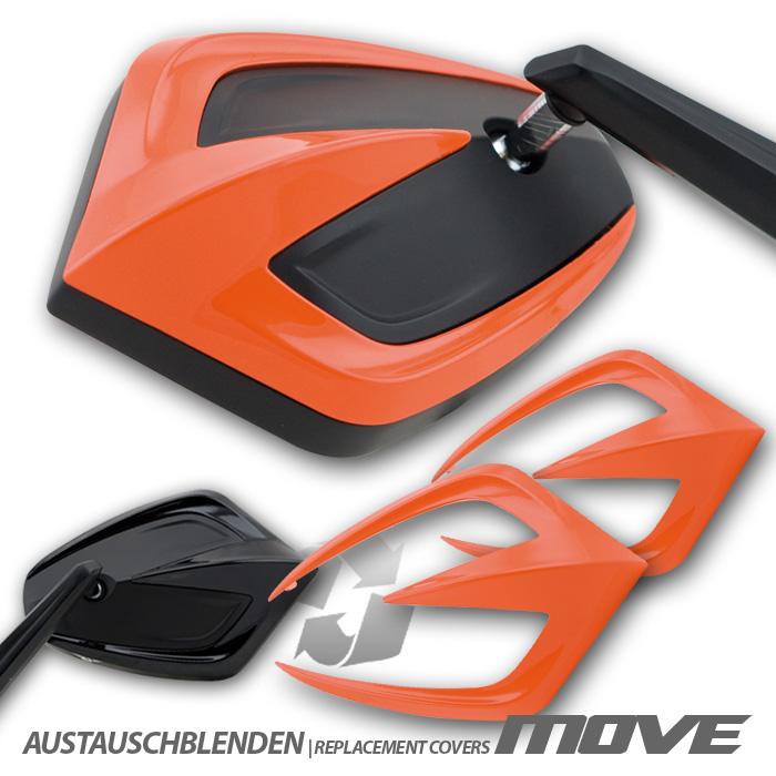"""Austauschblendenset """"MOVE"""", ABS, orange, Paar,"""