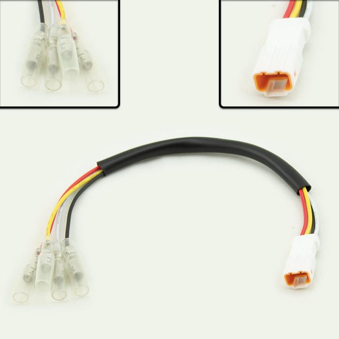 Adapterkabel Rücklicht | KTM SMC 690 | Stecker 04T-JWPF-VSLE-S | weiblich