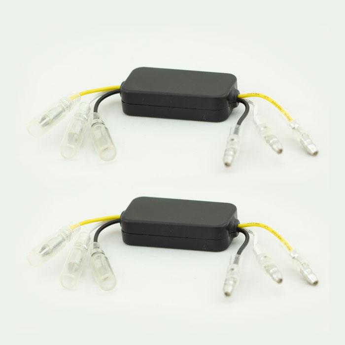 Positionslicht-Kontroll-Box | Paar | Maße: L 43 x B 22 x H 11 mm