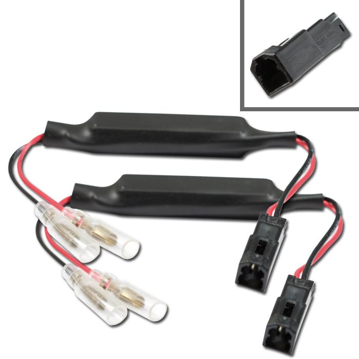 Adapterkabel Blinker | Widerstand | Ducati Diavel M696/796/1100/Streetfighter/Hyper-Multistrada/1199