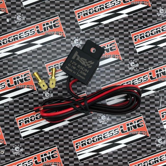 Blinkrelais 12V 1-130W | LED |  2-polig | Logo | z.B. GSX-S/R125 | GSX-S1000 | SV650 | Ninja 400