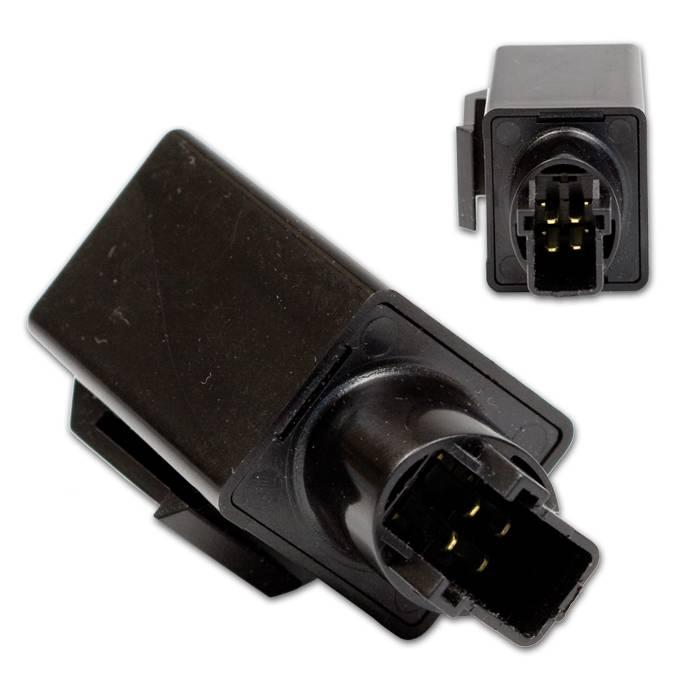 Blinkrelais 12V, HONDA 4-polig, lastunabhängig, 1-100W direkt Plug-In