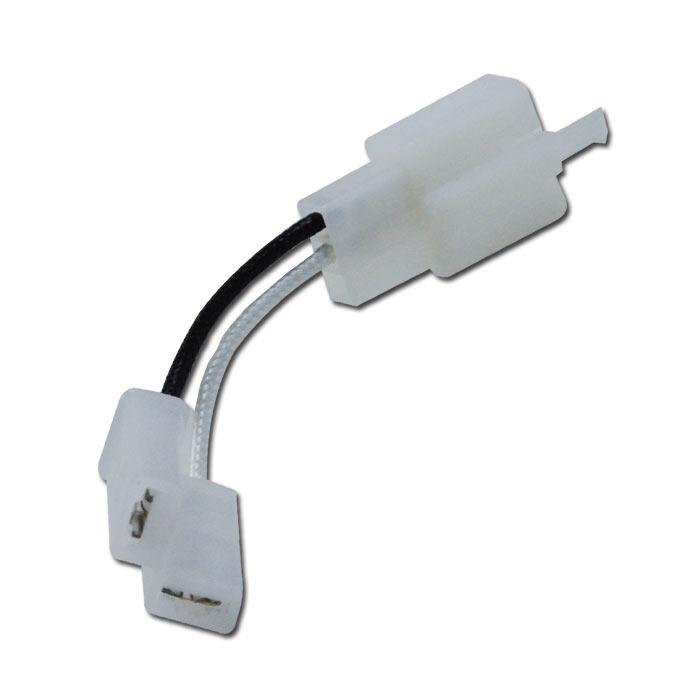 Adapterkabel für 2-Polige Relais zur Umrüstung auf Japanstecker 3PF-2 Pin s / Flachsteckhülse 6,3mm