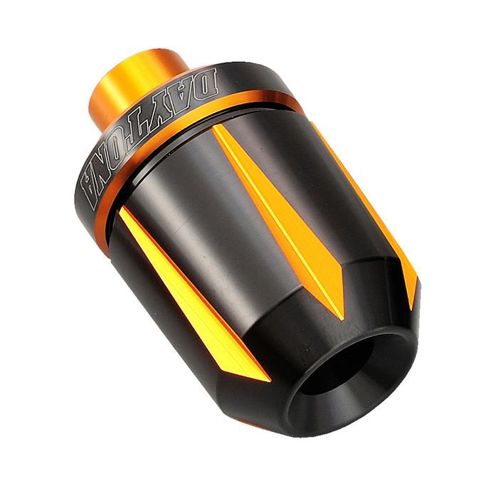 "Daytona Lenkergewichte ""Scratch"", orange eloxiert, 7/8""+1"" Lenker mit I Ø 14-19 mm, Paar"