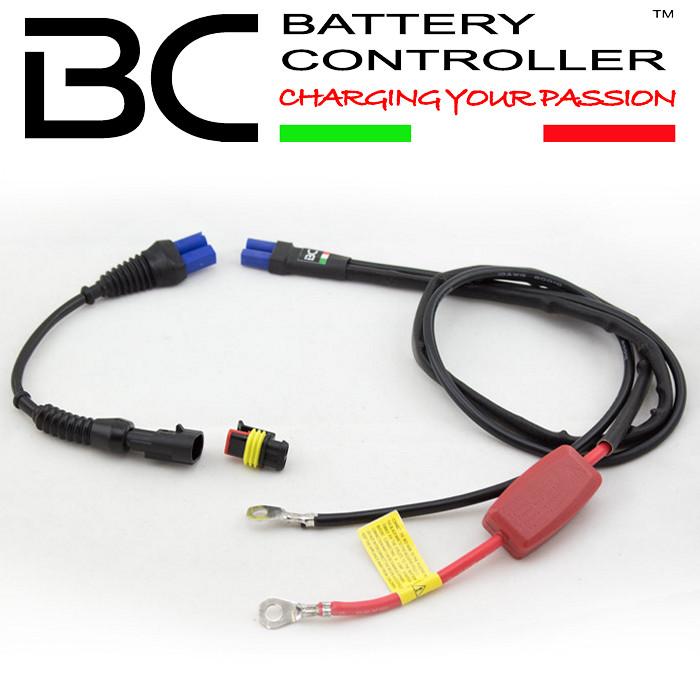Lade- und Starthilfekabel, BC K1200, Länge: 40cm, BBC Bike Booster Cable