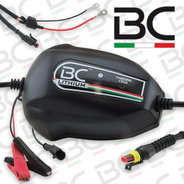 Batterieladegerät | BC | Lithium 900 | 12V | Ladestrom: 1,0A | Batteriekapazität 1-100AH