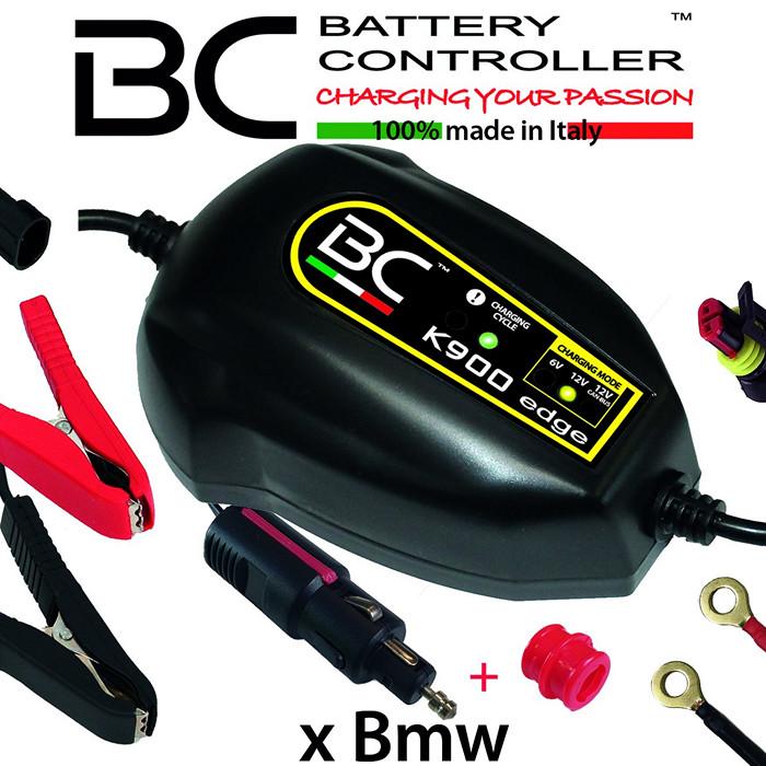 Batterieladegerät BC K900 EDGE, 6+12 Volt/CAN-Bus, Ladestrom: 1A / Batteriekapazität 1,2-45AH