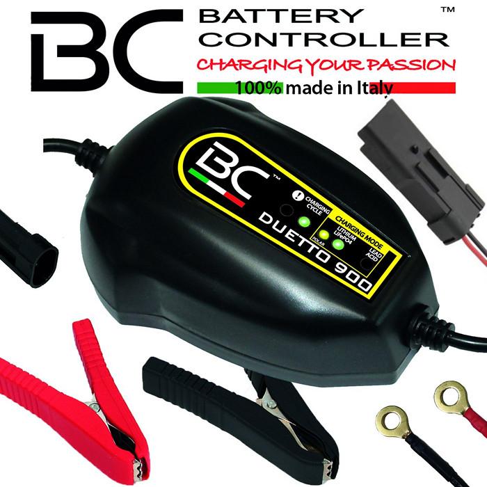Batterieladegerät | BC | DUETTO 900 +DDA Stecker | 12V | Blei/MF/LI | Ladestrom 1,5A  ***