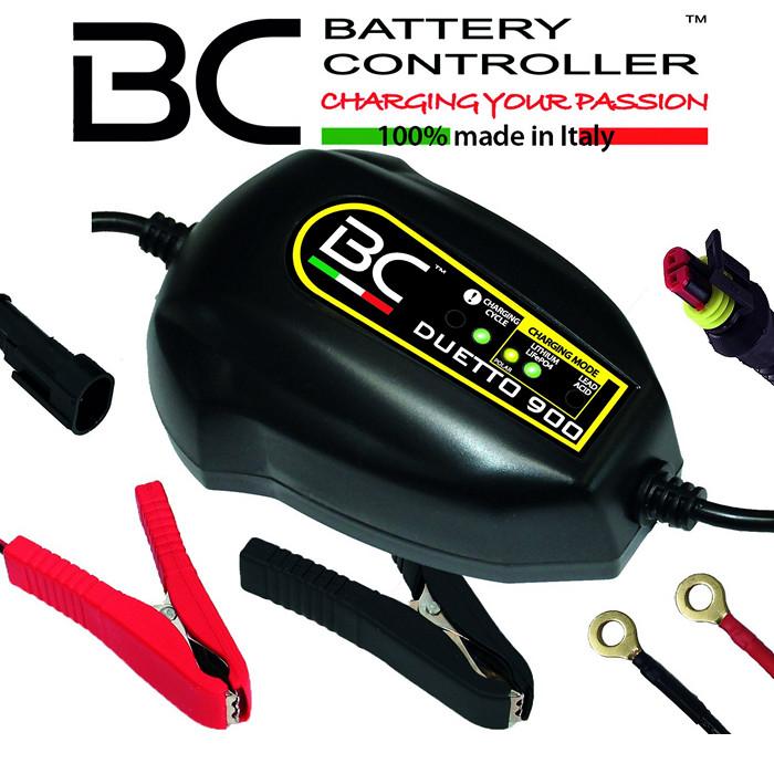 Batterieladegerät BC DUETTO 900, 12V, Blei/MF/LI, Ladestrom: 1,5A
