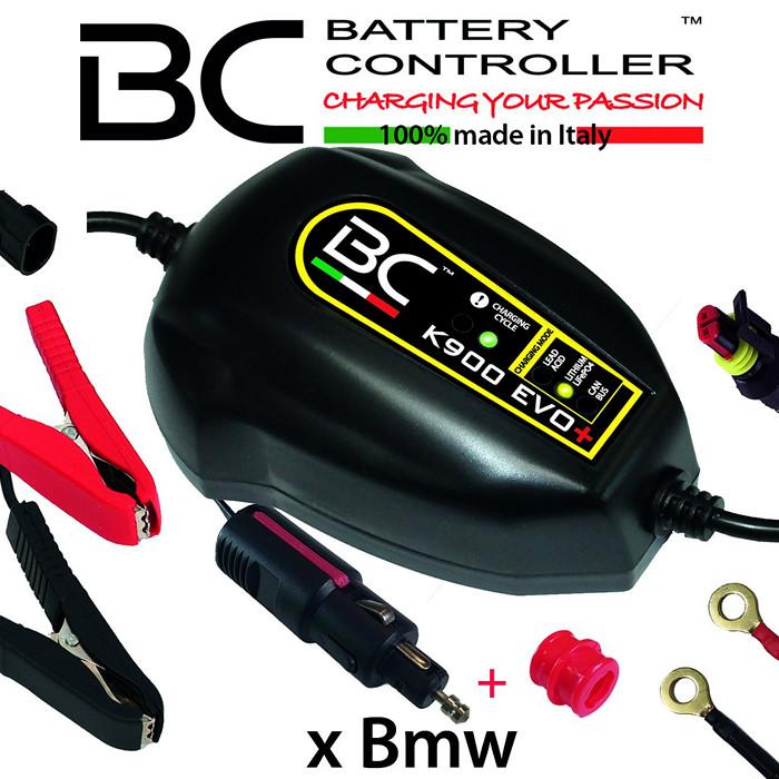 Batterieladegerät BC K900 EVO+,(12V) CAN-Bus+ LI Ladestrom: 0,9A / Batteriekapazität 1-100AH