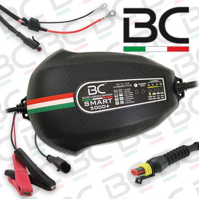 Batterieladegerät BC Smart 5000+, (12 Volt), Ladestrom: 1/5A / Batteriekapazität 3-150AH