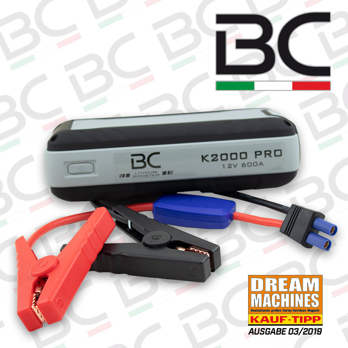 Booster BC K2000 PRO | LiFePO4-Technologie 100% | 15000 mAh | L 180 x B 85 x H 50 mm | 510 Gr.  *SP*