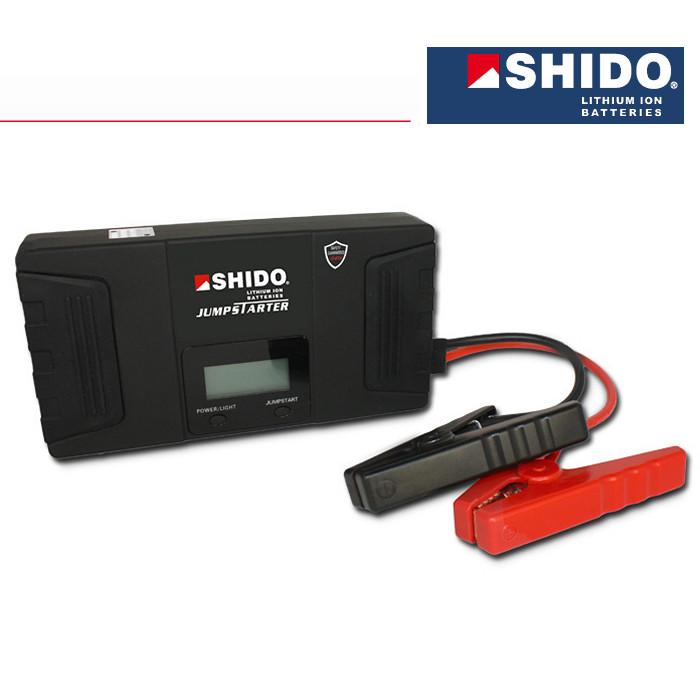 Booster Jump Starter Shido, LiFePO4, 100% sicher, 600A, L 192 x B 100 x H 40 mm, Gewicht: 750 Gr.