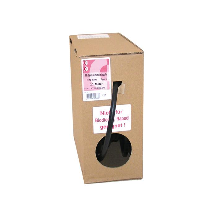 Benzin-und Unterdruckschlauch | 4,5 x 9,5 x 2,50mm | Länge: 20 Meter | DIN 4798 | Typ C