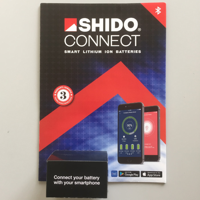 SHIDO DISPLAY, LITHIUM-IONEN CONNECT,