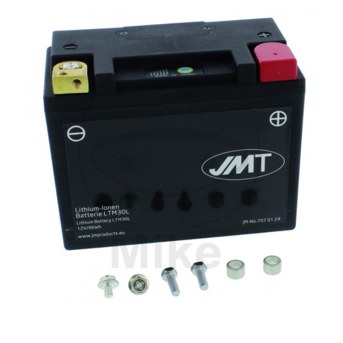 JMT Batterie LTM30L, LITHIUM-IONEN, (8Ah) L 165 x B 87 x H 130 mm