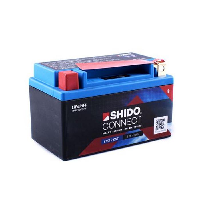 SHIDO BATTERIE LTX12, LITHIUM-IONEN CONNECT, (4AH) L 150 x B 87 x H 130 mm
