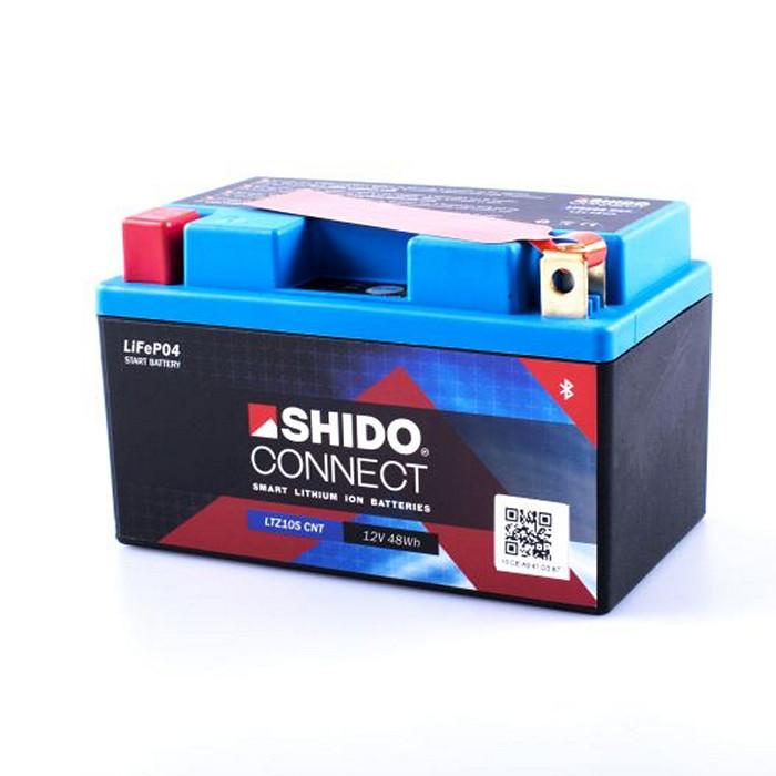 SHIDO BATTERIE LTZ10S, LITHIUM-IONEN CONNECT, (4AH) L 150 x B 87 x H 93 mm