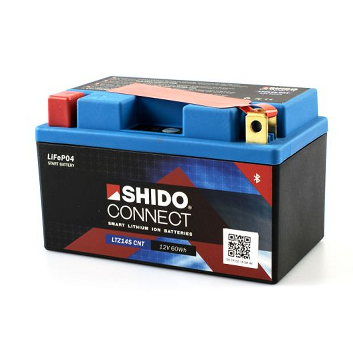 SHIDO BATTERIE LTZ12S/14S, LITHIUM-IONEN CONNECT, (5AH) L 150 x B 87 x H 110 mm