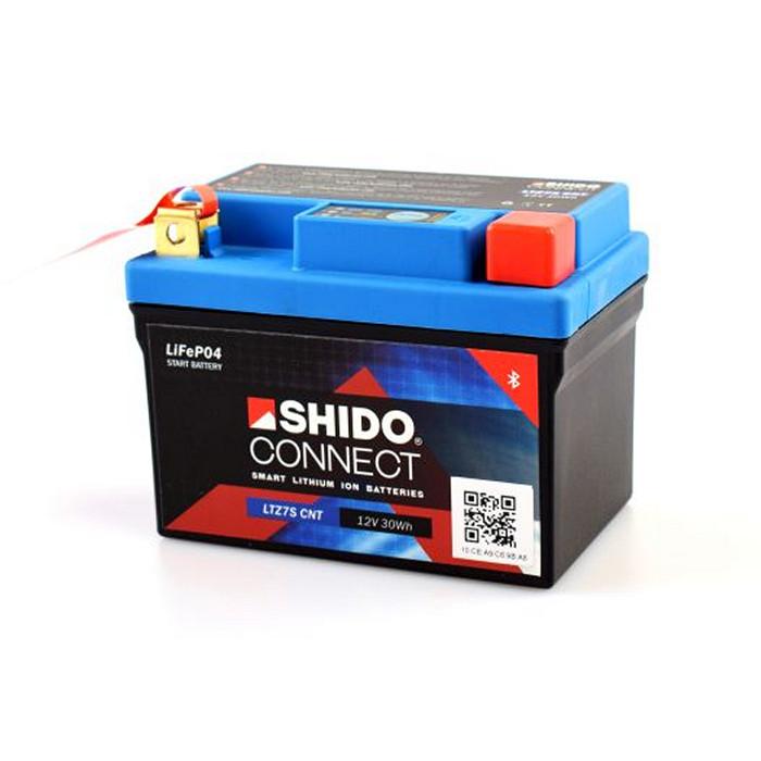 SHIDO BATTERIE LTZ7S, LITHIUM-IONEN CONNECT, (2,4AH) L 113 x B 69 x H 105 mm