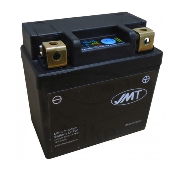 Batterie LFP01, LITHIUM-IONEN, ( LI 2AH/ 180A) L 92/88,75 x B 52/48,75 x H 90 mm