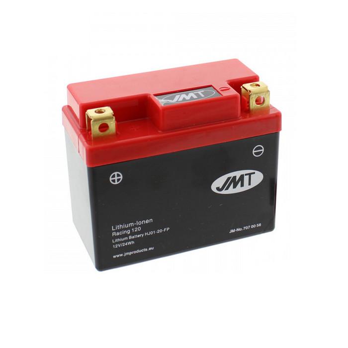 Batterie HJ01-20-FP, LITHIUM-IONEN, RACING 120, (2Ah) L 107 x B 56 x H 85mm