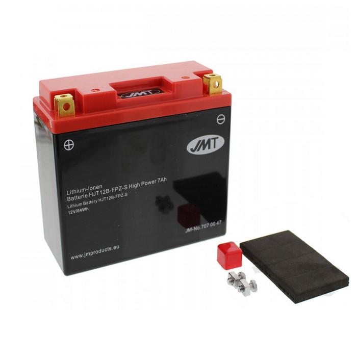 Batterie YT12B-BS/HJT12B-FPZ-S, LITHIUM-IONEN, (LI 7AH) L 150 x B 65 x H 130mm