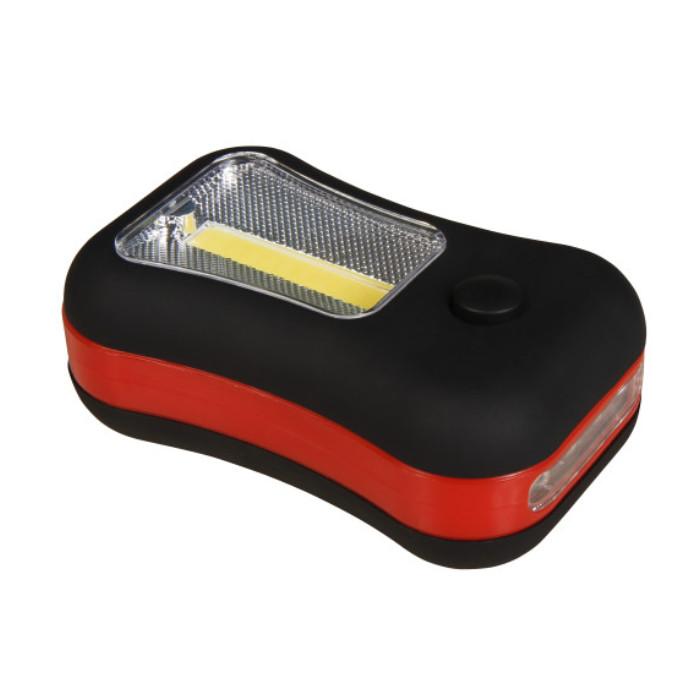 LED-Arbeitsleuchte , 3W COB + 4 LEDs, Funktion: LED + COB / Schalter / Haken / Magnet