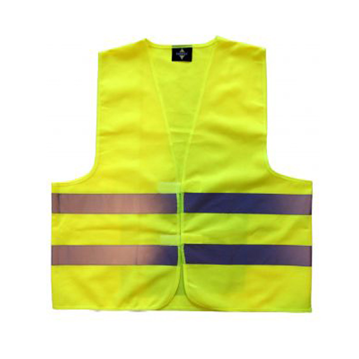 Warnweste, gelb EN / ISO 471, Gr. XL / XXL