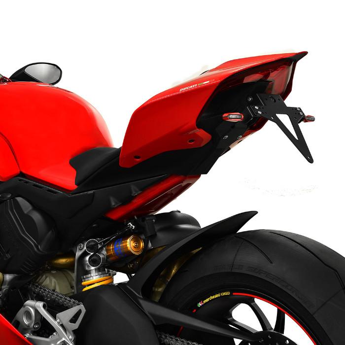Kennzeichenhalter Ducati Panigale V4/V4S Bj. 18-, verstellbar, inkl. Reflektorhalter