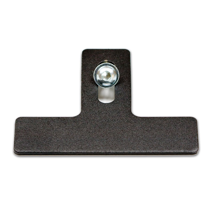 Halter für Reflektor, schwarz Gesamtlänge ca. 77mm