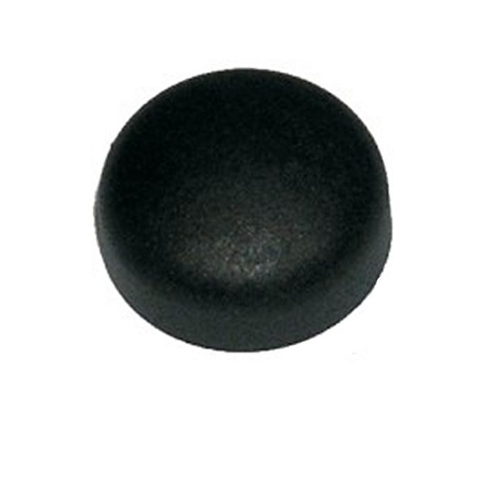 Nummernschildabdeckkappen-Set | Schw | 100 Stck. | passend für M5 / M6 / 4,8 / 5,8 mm